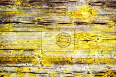 Fototapete Gelb Holz Hintergrund
