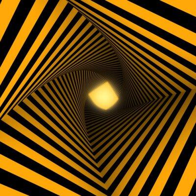 Fototapete gelben und schwarzen Hintergrund