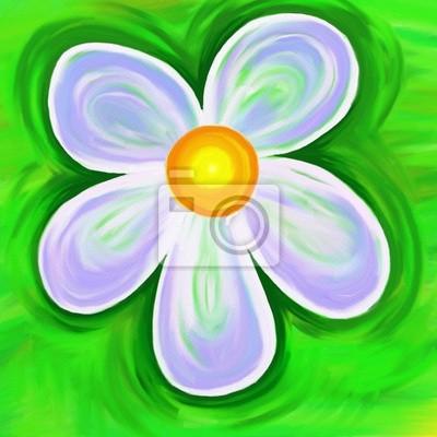 gemalten Blume