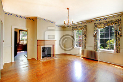 Gemutliches Wohnzimmer Mit Kamin