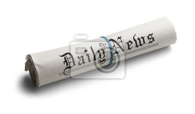 Generische Rolle Zeitung