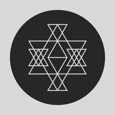 Fototapete Geometrisches Grafikelement