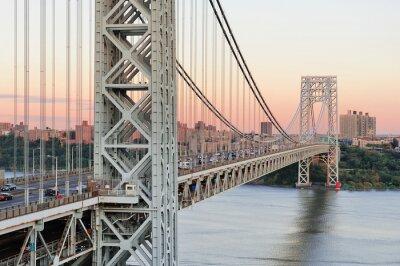 Fototapete George-Washington-Brücke