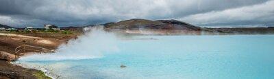Fototapete Geothermischer Teich, Myvatn