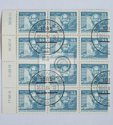 German Stamp Fototapete O Fototapeten Marx Karl Historisches