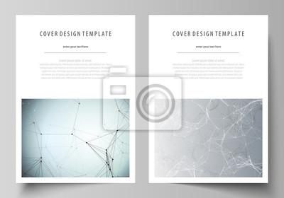 Geschäftsschablonen für broschüre, zeitschrift, flieger, broschüre ...