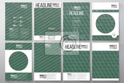 Geschäftsvorlagen für prospekt, flyer oder broschüre. seelandschaft ...