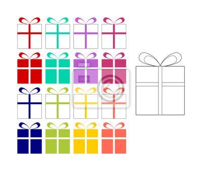 Fein Färbung Von Paketen Zeitgenössisch - Ideen färben - blsbooks.com