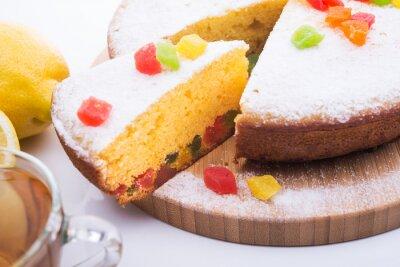 Fototapete Geschmackvolle Kuchen mit Jujube