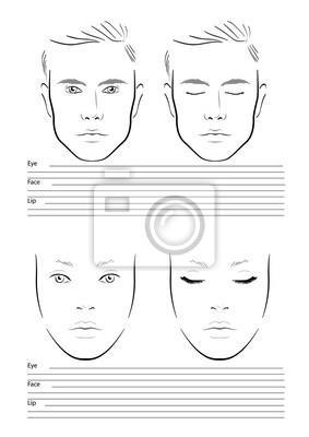 Gesicht Zum Download 5 Formen 1