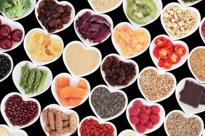 Fototapete Gesunde Ernährung