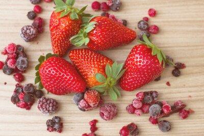 Fototapete Gesunde Rote Früchte