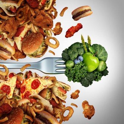 Fototapete Gesundheit Diät-Durchbruch