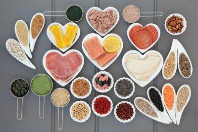 Fototapete Gesundheit und Diät-Nahrung