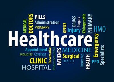 Fototapete Gesundheitspflege