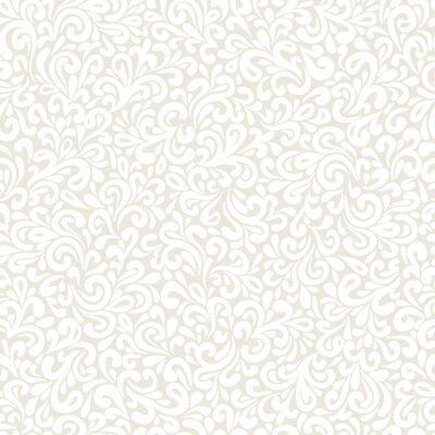 Fototapete Gewelltes doodle nahtlose Muster