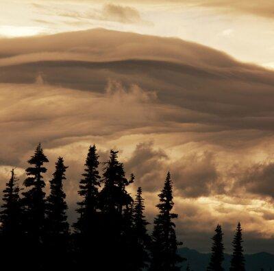 Fototapete Gewitterwolken
