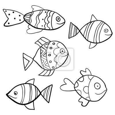 Gemütlich Färbendes Bild Von Fisch Fotos - Dokumentationsvorlage ...