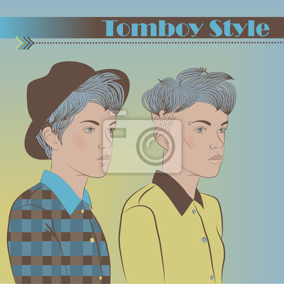 Girls in the Style of Tomboy