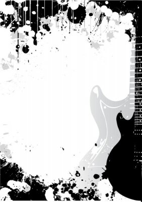 Gitarre Hintergrund
