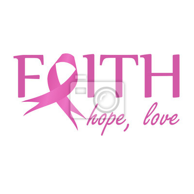 Etwas Neues genug Glaube, hoffnung, liebe rosa band, brustkrebs-bewusstsein zu &SX_87