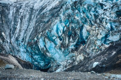 Fototapete Gletscher