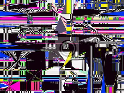 Glitch Computer Data Error Screen Fail Tv Signal Error 2 Fototapete