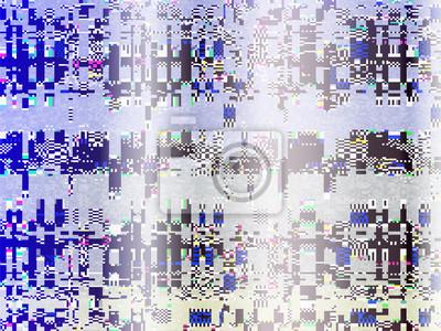 Glitch Computer Screen Fail Data Error Tv Signal 5 Fototapete