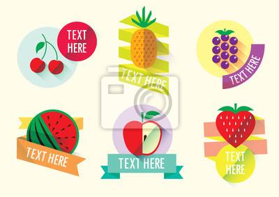 Glückliche Frucht