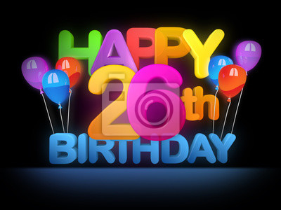 26 geburtstag Birthday Calculator