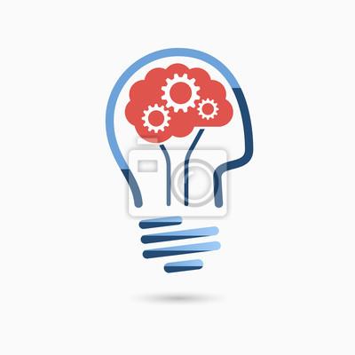 Glühbirne idee-symbol. glühbirne zeichen, glühbirne symbol ...