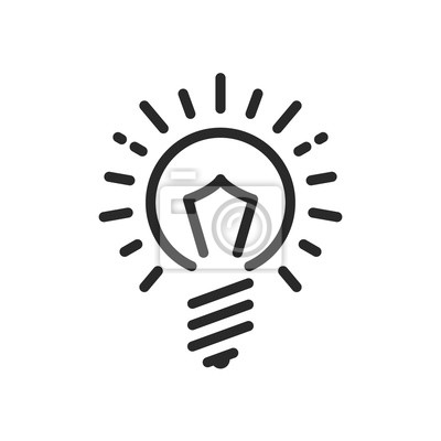 Glühbirne-symbol. glühbirne-logo. glühbirne-symbol. business-logo ...