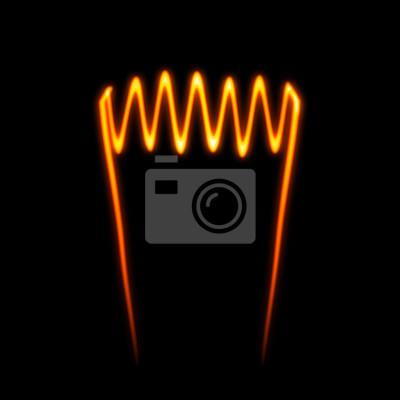 Glühdraht fototapete • fototapeten Phosphoreszenz ...