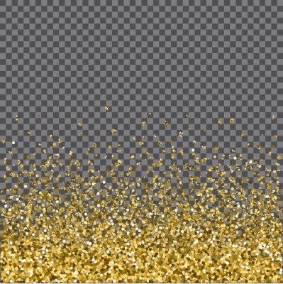 Fototapete Gold glitter Hintergrund. Abbildung.