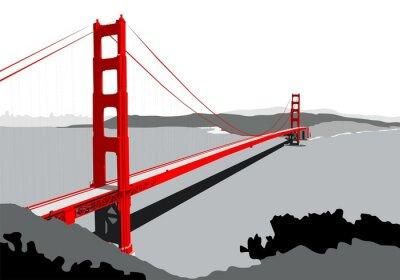 Fototapete Golden Gate Bridge