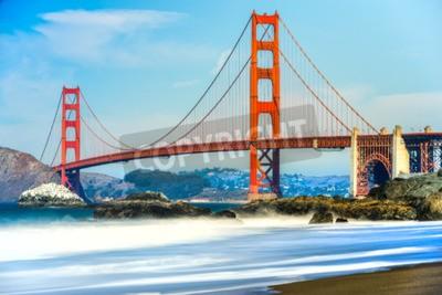 Fototapete Golden Gate Bridge in San Francisco, Kalifornien, USA.