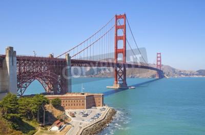 Fototapete Golden Gate Bridge in San Francisco, USA.