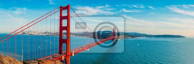 Fototapete Golden Gate Bridge panorama, San Francisco California