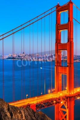 Fototapete Golden Gate Bridge, San Francisco, Kalifornien, USA.