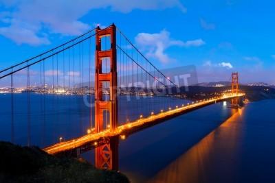 Fototapete Golden Gate, San Francisco Kalifornien