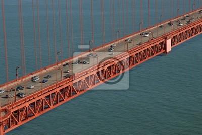 Golden Gate von Marin Landzungen, San Francisco