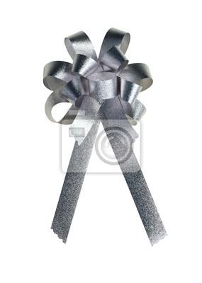 Goldene Geschenk Bogen. Ribbon. Isoliert auf weißem