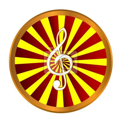 Goldene Notensymbol