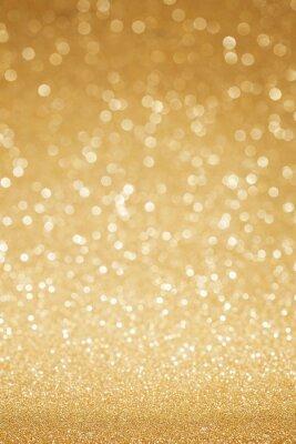 Fototapete Goldenes Funkeln abstrakten Hintergrund