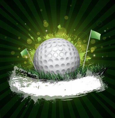 Fototapete Golf banner