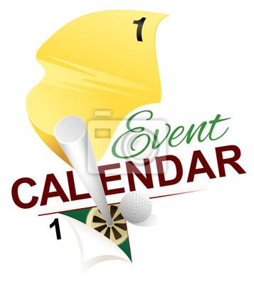 Golf Event Calendar