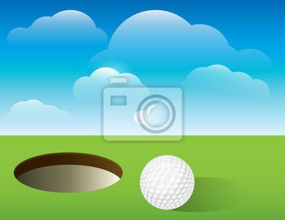 Golf Putting Green Hintergrund