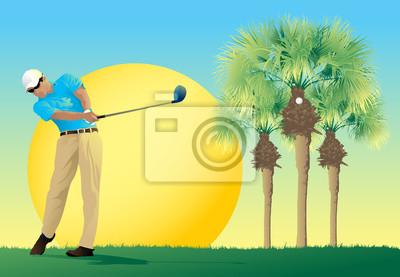 Golf Sonnenschein