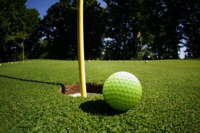 Fototapete Golfplatz
