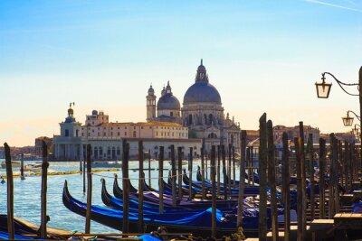 Fototapete Gondeln, Venedig
